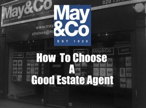 How to choose a good estate agent